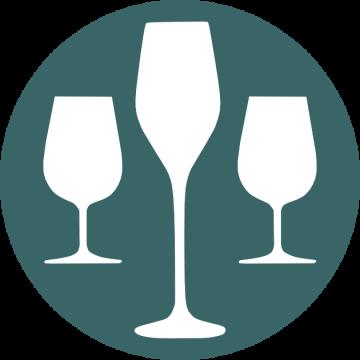 Dégustation du Poiré Domfront dans une flûte ou un verre tulipe