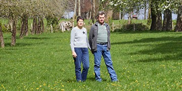 Louisette et Jean-Claude Fourmond